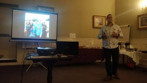 Stephen Speaking at Uncensored Toastmasters Dublin