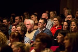 Stephen Downey in the Audience of TEDx Tallaght 2017